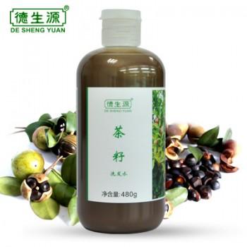 Шампунь от перхоти с экстрактом зелёного чая и семенами льна