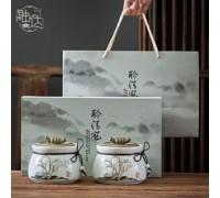 Китайский чай в керамических банках (подарочный набор)