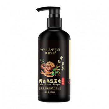 Лечебный шампунь с линчжи, женьшенем и китайскими травами